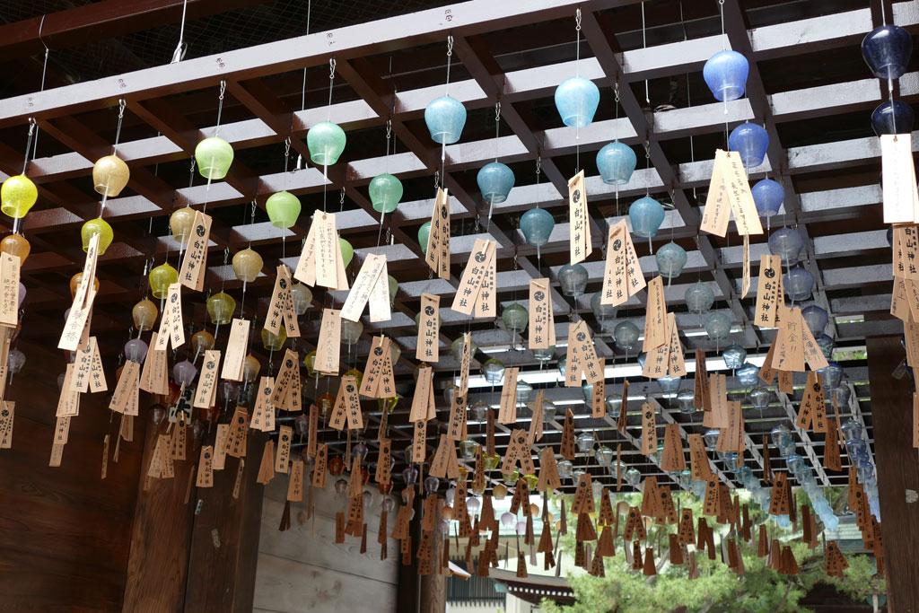 白山神社の風鈴まつり