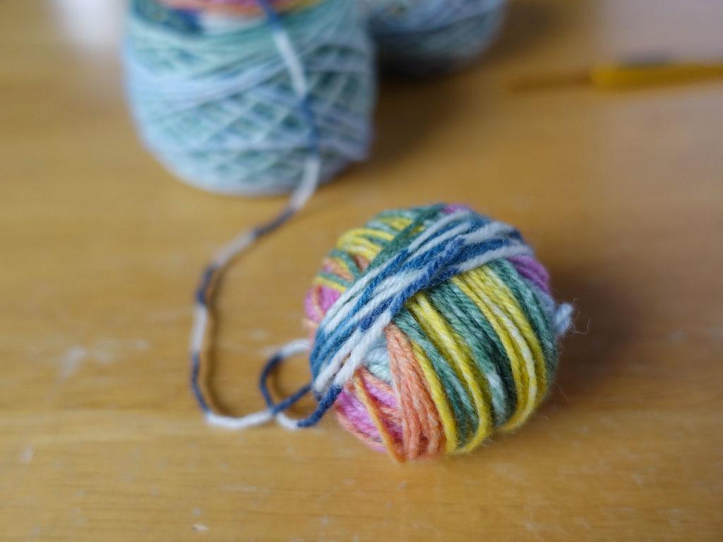 OPALで編む戌2