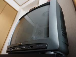古いテレビ(1999年製ブラウン管)