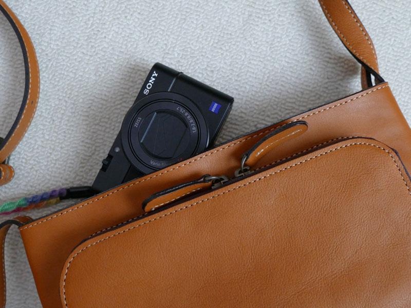 カメラが入るお財布ポシェットを探せ!