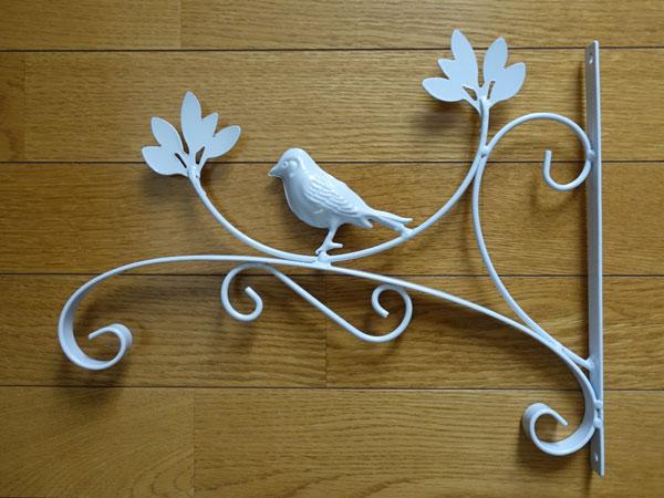 小鳥のアイアンブラケット1