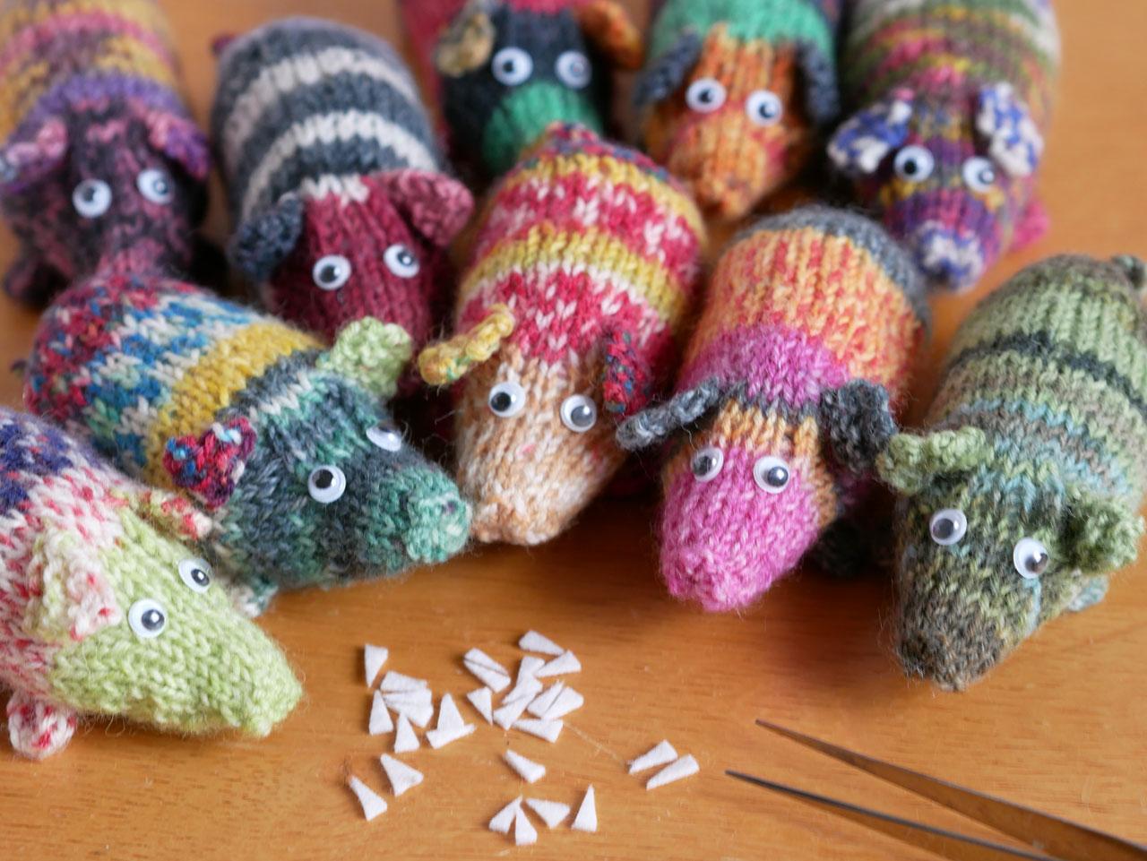 イノシシ編みぐるみ2