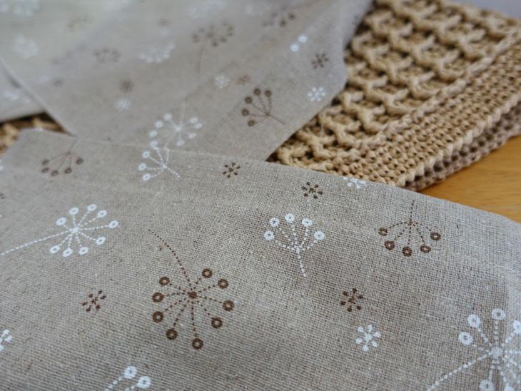 エコアンダリヤのワッフル編みバッグ9
