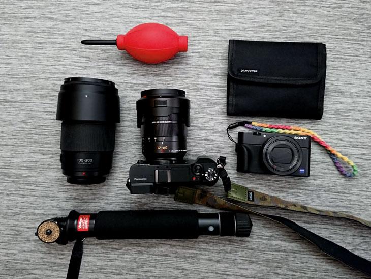 amazonベーシック スリングカメラバッグ4