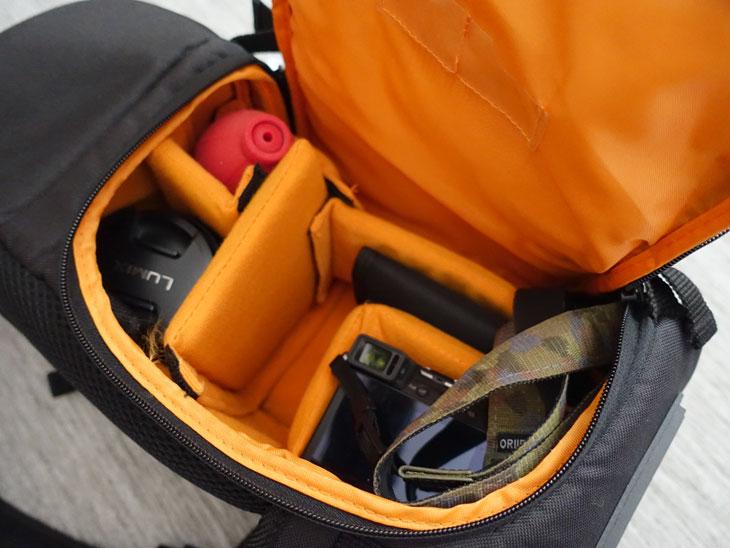 amazonベーシック スリングカメラバッグ1