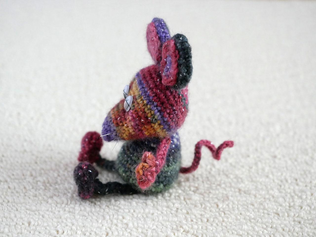 opalで編んだねずみ5