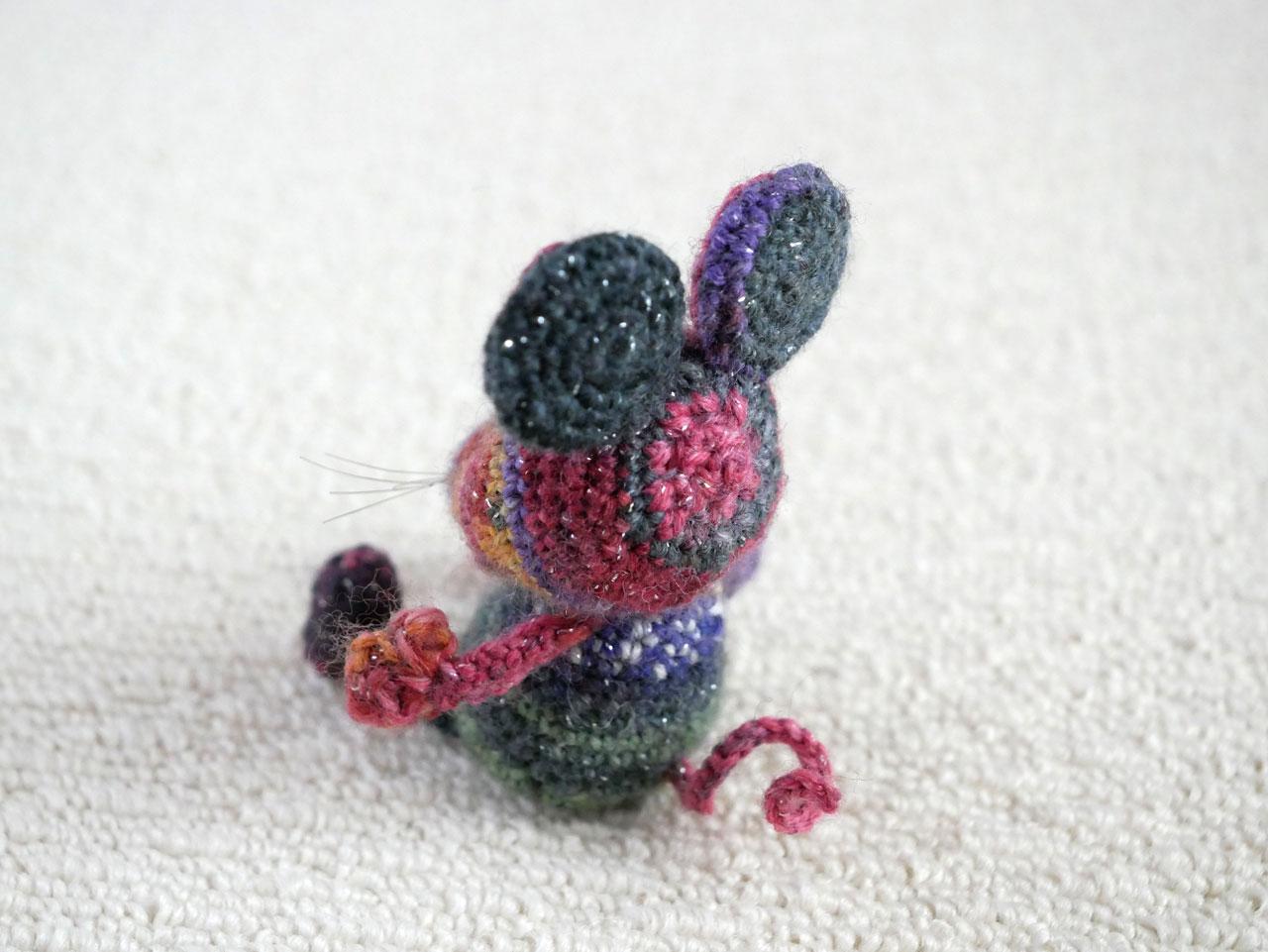 opalで編んだねずみ6