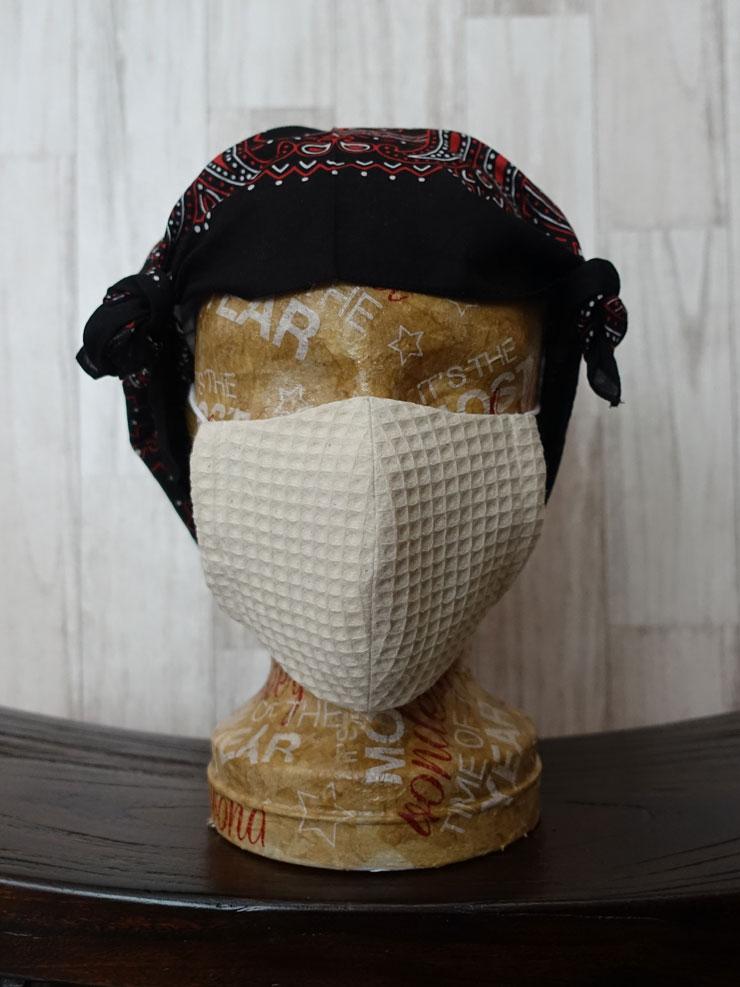 布マスク ブラザー型紙