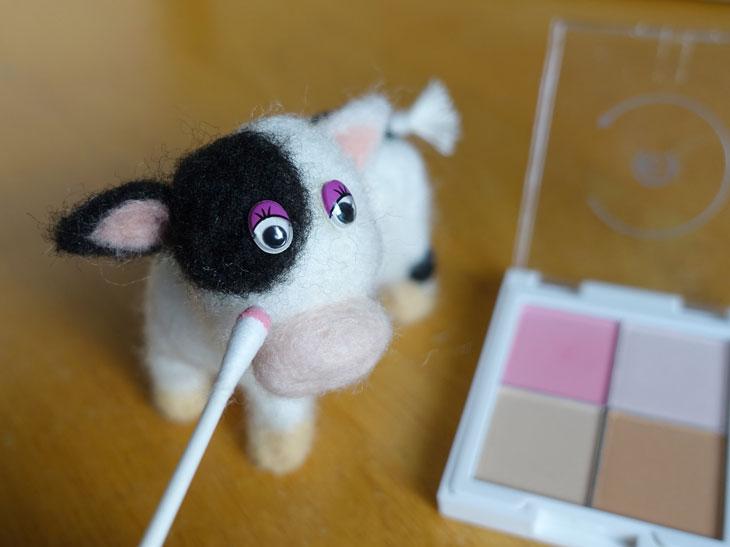 羊毛フェルトの牛8