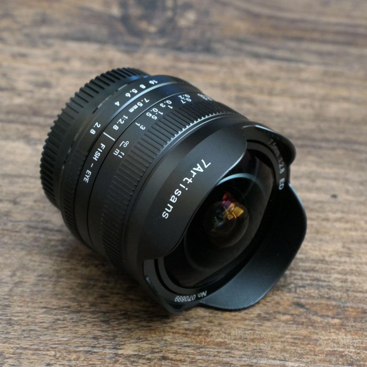 7artisans 7.5mm F2.8 II for M4/3