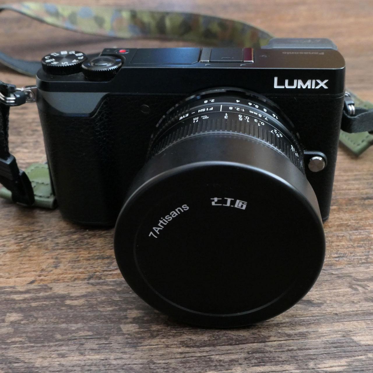 LUMIX DMC-GX7MK2+7artisans 7.5mm F2.8 II